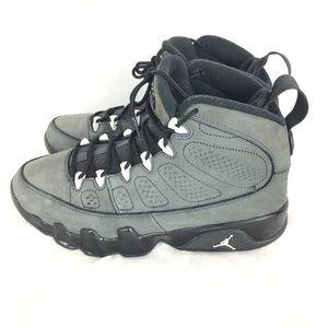 Jordan 8 IX Anthracite Charcoal Carbon Sneakers
